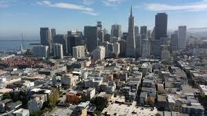 Coit Tower Mural City Life by San Francisco Skyline Seen From Coit Tower Youtube