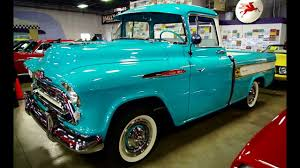 1957 Chevrolet Cameo Pickup 283 V8 4 BBL Four-Speed - YouTube 1957 Chevrolet Cameo Carrier 3124 Halfton Pickup Chevrolet Cameo Streetside Classics The Nations Trusted 1955 Pickup Truck Stock Photo 20937775 Alamy Rare And Original Carrier Pickup Sells For 1400 At Lambrecht Che 1956 3100 Volo Auto Museum 12 Ton Chevy Cameo Gmc Trucks Antique Automobile Club Of Sale 2013036 Hemmings Motor News On The Road Classic Rollections 1958 Start Run External Youtube Chevy Forgotten Truckin Magazine