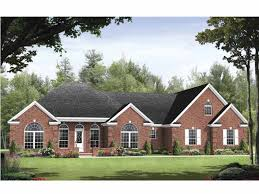 Download Single Story Brick House Plans