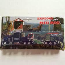 100 Toy Big Trucks PENNSYLVANIA TRUCK EXPLORE PA BIG RIG TOY TRACTOR TRAILER NEW IN BOX