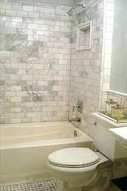 marble subway tiles white tile bathroom backsplash and carrara