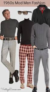 Late 1960s Mod Mens Style