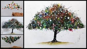 Watercolor Abstract Painting How To Paint An Tree Easy Tips And Tricks