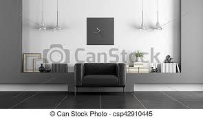 minimalist weißes schwarz zimmer lebensunterhalt