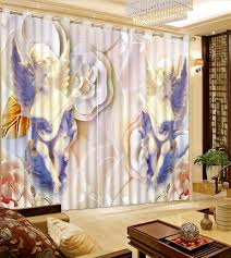Modern Window Curtains For Living Room by Small Window Curtains Window Rose Adjustable Tieup Shade Blackout