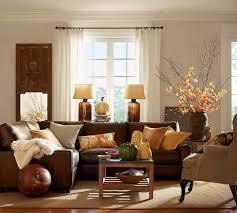 Brown Leather Sofa Decorating Living Room Ideas by Black And Burgundy Living Room Home Design