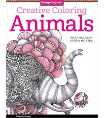 Adult Coloring Book Creative Animals