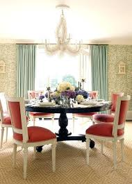Teal Blue Dining Chairs Red Color Room