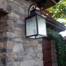 y decor 3 light exterior lighting in rustic bronze free