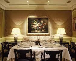 Luxury Dining Room Intimate Lighting