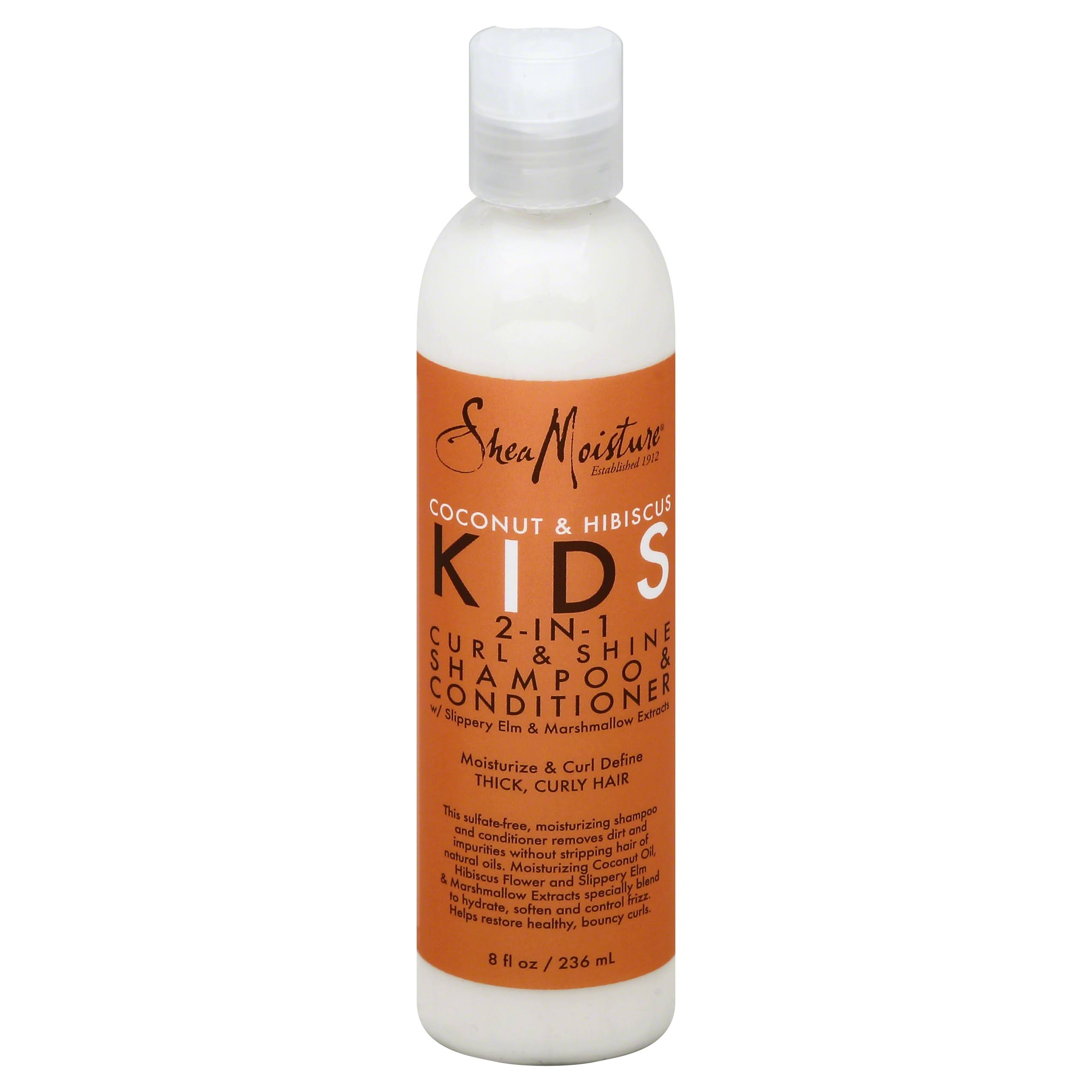 Shea Moisture Kids Curl and Shine 2-in-1 Shampoo and Conditioner - 8oz
