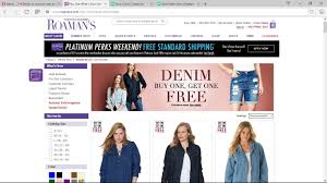 Roamans Promo Codes Free Shipping : Brand Coupons