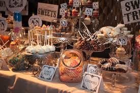 Cake Pops Cookies Sweets And Cupcakes On Dessert Table