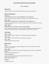 Office Clerk Resume Examples Clerical Example Administrative Sample Picture
