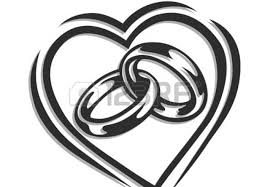 wedding rings Excellent Two Wedding Rings Drawing Lovely Wedding Rings Line Drawing Stunning Wedding Bands Drawing Amiable Two Wedding Rings Drawing Cute