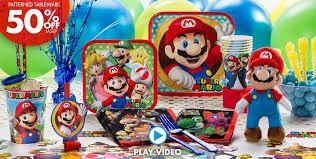 40th Birthday Decorations Canada by Super Mario Party Supplies Super Mario Birthday Party City Canada