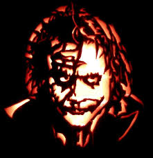 The Joker Pumpkin Stencil by 13 Best Pumpkin Carving Images On Pinterest Pumpkins Autumn And