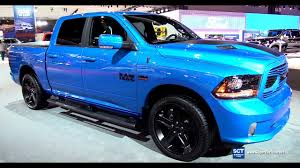 100 Blue Dodge Truck 2018 RAM 1500 Hydro Sport Exterior And Interior