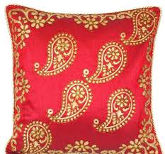 Red Decorative Pillows by Online Shop Style Pillow Cover Geometric Cushions Covers Red Throw