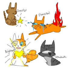 warrior cat names warrior cats literal names by ressii on deviantart