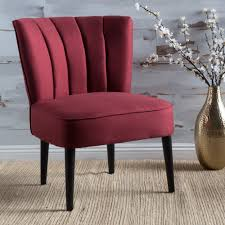 Shop Erena Fabric Channel Accent Chair By Christopher Knight Home ... Accent Chairs Armchairs Swivel More Lowes Canada Brightly Colored Best Home Design 2018 Skyline Fniture Swoop Traditional Arm Chair Polyester Armless Amazoncom Changjie Cushioned Linen Settee Loveseat Sofa Powell Diana In Black White Floral Red Barrel Studio Damann Armchair Reviews Wayfair Aico Beverly Blvd Collection Sit Sleep Walkers Cimarosse Gray Shop 2pcs Set Dark Velvet Free Upholstered Pattern