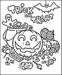 Wondrous Design Ideas Halloween Coloring Pages