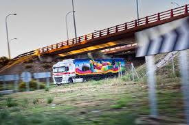 100 Truck Art Project 100 Trucks As Canvases 100 Artworks On The Road