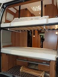 fourgon amenage 4 places avec lits superposes recherche