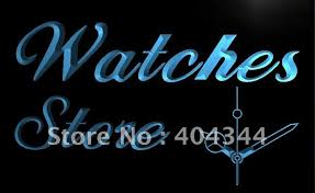 LB788 Watch Store Open Shop Repair NEW LED Neon Light Sign home
