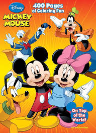 Disney Mickey Friends 400 Page Coloring Activity Book