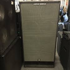 Empty 1x10 Guitar Cabinet by Used Bass Speaker Cabinets Page 1 Music Go Round