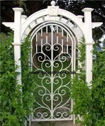 Steel Garden Gate Garden Entry Gates Iron Steel Modern Aluminum Garden