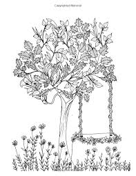 Adult Coloring Book Secret Garden Relaxation Templates For Meditation And Calmingadult Colouring Books Ladies Pages