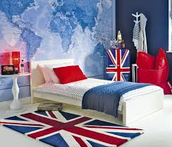 Union Jack Furniture And Decoration Ideas Teenager Style