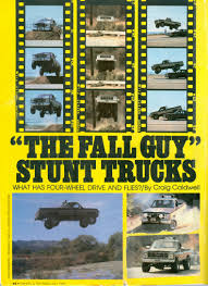 100 Fall Guy Truck Specs TV Movies