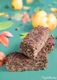 quitten kürbiskern proteinschnitten glutenfrei vegan