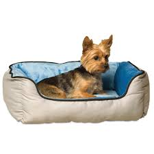 Coolaroo Dog Bed Large by Exterior Deluxe Fleece Double Bolster Pet Coolaroo Dog Bed For