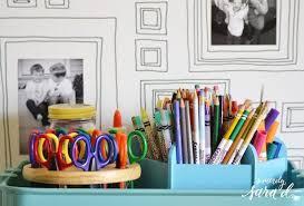 Art Supplies Frame Wallpaper