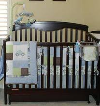 Kidsline Crib Bedding by Full Crib Size Kids Line Transportation Sailboats Cars
