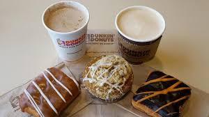 Dunkin Donuts Pumpkin Latte Gluten Free by Fall In Westmont Marks Changing Of Coffee Snacks Menu