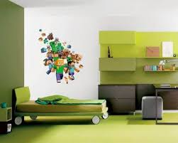 MINECRAFT XBOX GAME FULL COLOUR WALL STICKER BOYS BEDROOM DECAL 40 X 60 CmAmazon