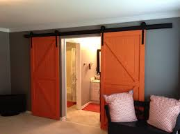 DIY Rolling Interior Barn Doors — The Wooden Houses Best 25 Glass Barn Doors Ideas On Pinterest Interior Glass Pacific Entries 36 In X 84 Shaker 2panel Primed Pine Wood Barn Doors For Homes Outstanding Sliding Pa Nj Md Va Ny New Holland Supply Knotty Door Home Bedroom Decofurnish For Sale Picturesque Grey Finished With Building A Interior Sliding Homes_00032 Concord Green The Have Arrived