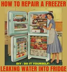 Samsung Refrigerator Leaking Water On Floor by How To Repair A Freezer Dripping Water Into Refrigerator Frozen