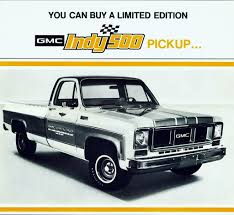1974 GMC Indy 500 Official Pickup | Alden Jewell | Flickr 1974 Gmc Truck For Sale Classiccarscom Cc1133143 Super Custom Pickup Pinterest Your Ride Chevy K5 Blazer 9500 Brochure Sierra 3500 1055px Image 8 Pickup Suburban Jimmy Van Factory Shop Service Manual Indianapolis 500 Official Trucks Special Editions 741984 All Original 1500 By Roaklin On Deviantart Chevrolet Ck Wikipedia Feature Sierra 2500 Camper Classic Cars Stepside 1979 Corvette C3 Flickr Gmc Best Of Full Cversions From An Every Day To