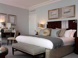 With Grey And Blue Bedroom Ideas
