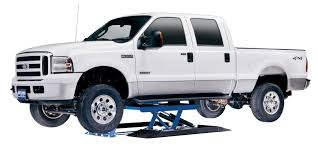 Types-Of-Car-Lifts-Low-Mid-Rise-Hinged-Lift-with-ford-truck-Rotary ...