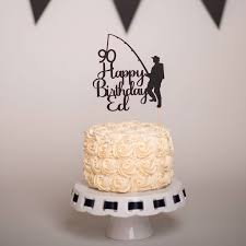 fischerei cake topper personalisierte fischerei cake topper