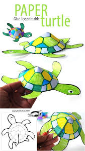 Glue Less Printable Turtle