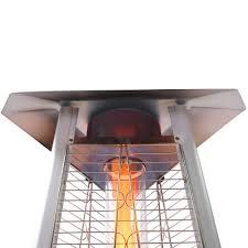 Propane Patio Heat Lamps by Lava Heat Italia 2g Propane Patio Heater Stainless Steel Lhi 2g