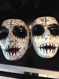 Purge Anarchy Mask For Halloween by Purge Anarchy Mask International Shipping Sik Set Of 2 Masks